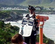 The Whale Crier at Hermanus