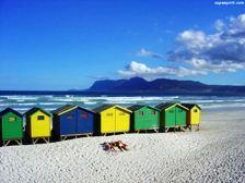A memorable time at Muizenberg beach