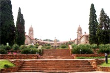 A quick visit to the Union Buildings, in the administative capital city Pretoria (Gauteng Province)