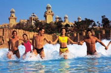 Thrills & Spills on the rides at Valley Of The Waves at Sun City (North West Province)